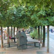Kugelahorn-Allee in der Frechener Fußgängerzone
