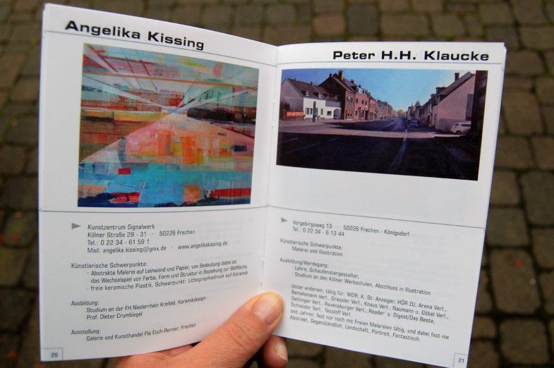 Künstler in Frechen - aktualisierte Broschüre