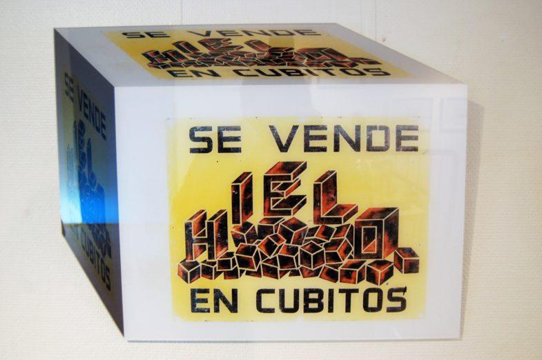 """Arbeit aus der Serie """"The Cubes - liquidation total"""" von Marc Peschke"""