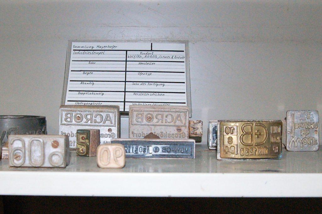 Industriestempel aus der Mayerhof'schen Sammlung