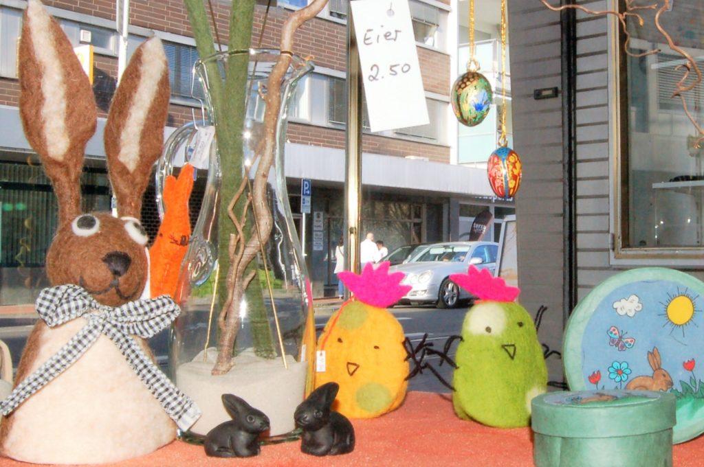 Osterdeko im Eine-Welt-Laden Frechen