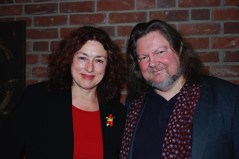 Monika Griefahn und Jürgen Streich 2014 beim Königsdorfer Literaturforum