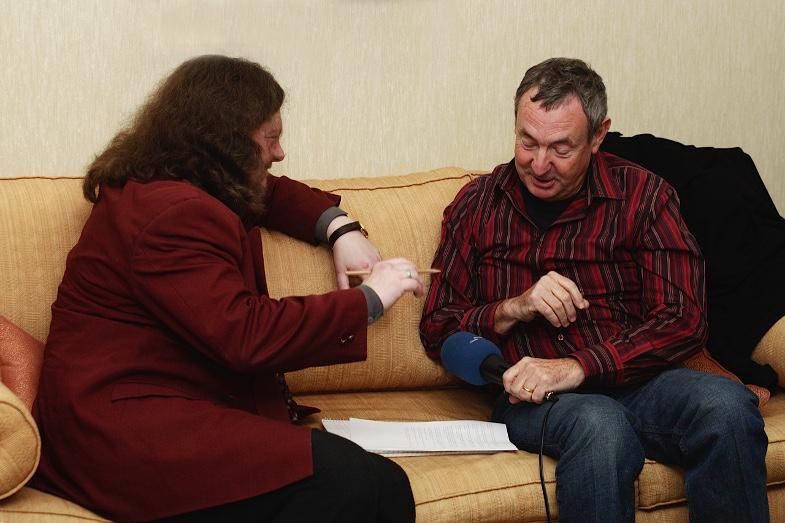Jürgen Streich im Interview mit Nick Mason