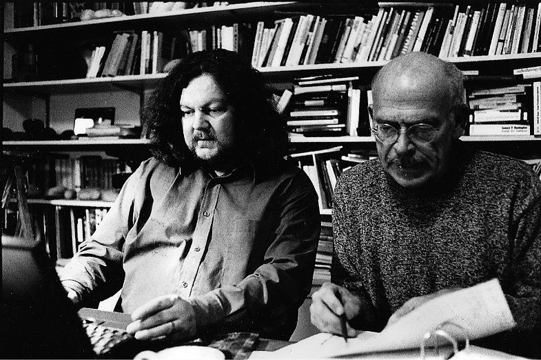 Jürgen Streich und Günter Wallraff 2003 gemeinsam bei der Arbeit