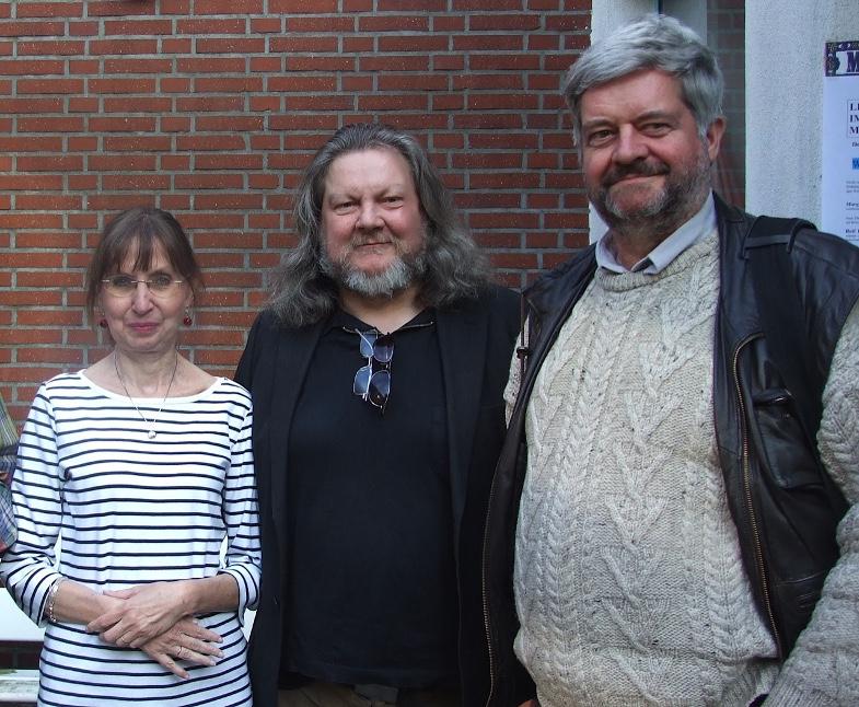 Margit Hähner, Jürgen Streich (M.), Andreas Rumler