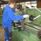Drehmaschine in den Werkstätten des CJD Berufsbildunsgwerks Frechen