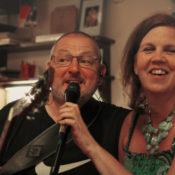 Andrea Wiethüchter und Frank Winkel beim zweiten Frechener Kneipenfestival