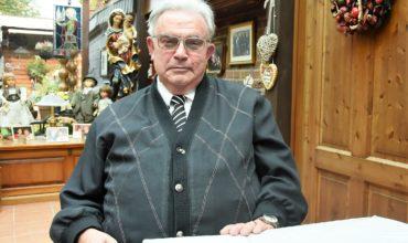 Horst Winkelhag in seinem Haus in Frechen