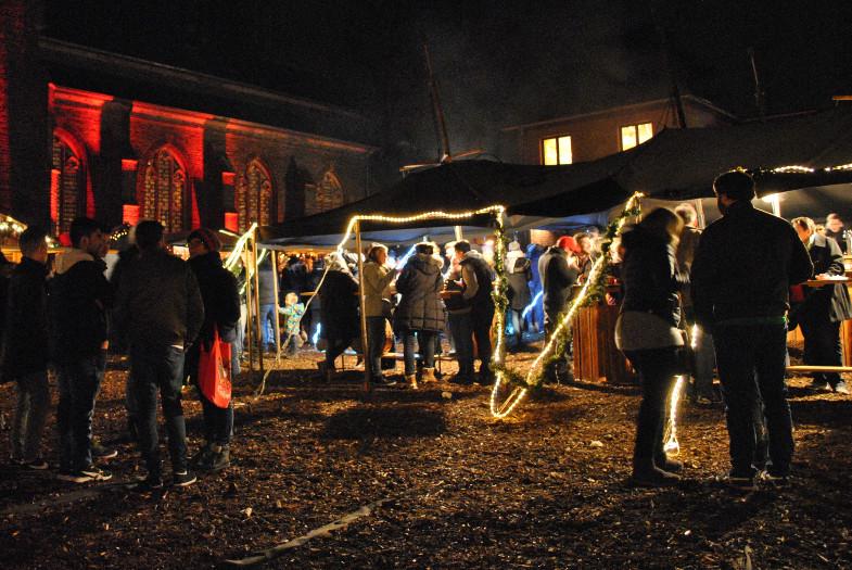 Weihnachtsmarkt der Pfadfinder an St. Sebastianus