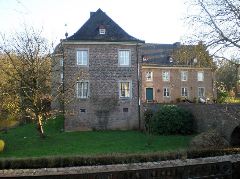 Bachem-Führer: Burg Bachem, Fürstenbergstraße / Schlossstraße