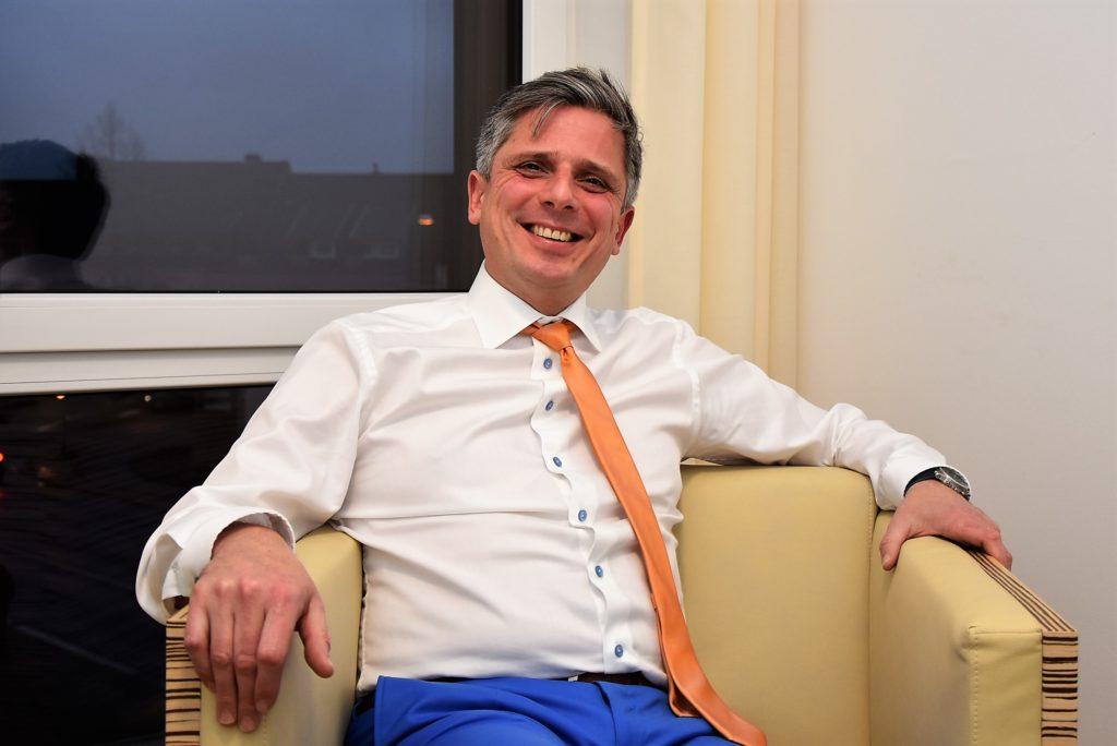 Achim Leirich, Geschäftsführer der GWG Rhein-Erft Wohnungsgesellschaft, in Hürth