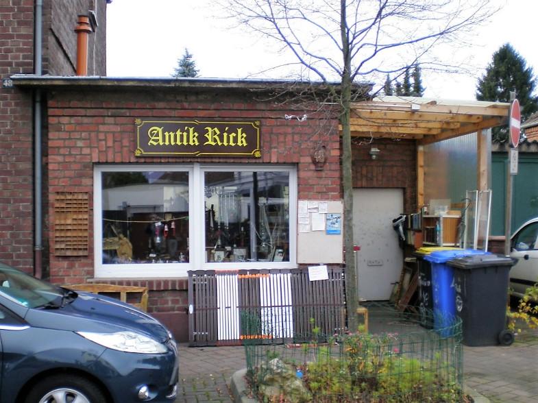 """Antik Rick, Mauritiusstraße 48, früher """"An der Pump"""""""