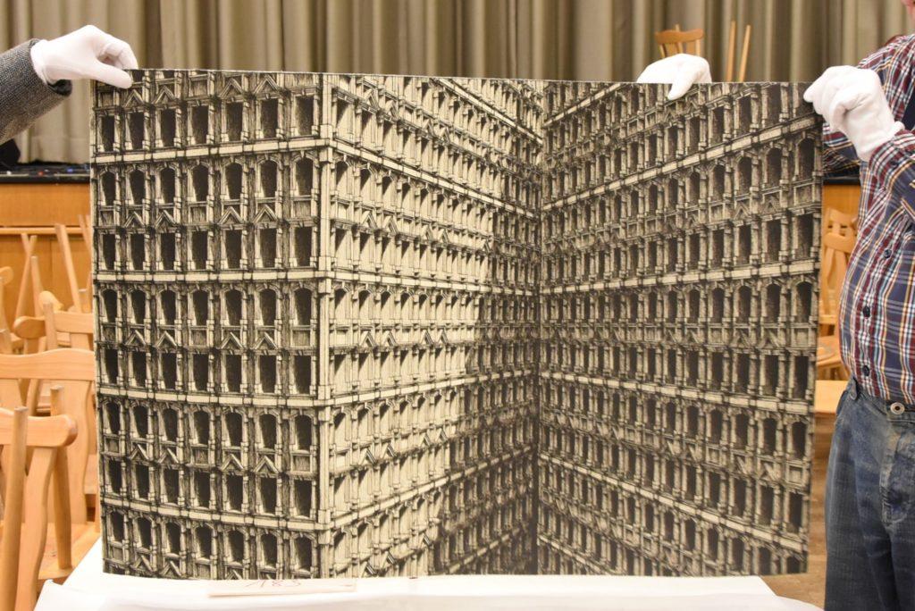 """18. Grafik-Triennale Frechen, Lukasz Koniuszy: """"Habitable Structure"""" (2008)"""