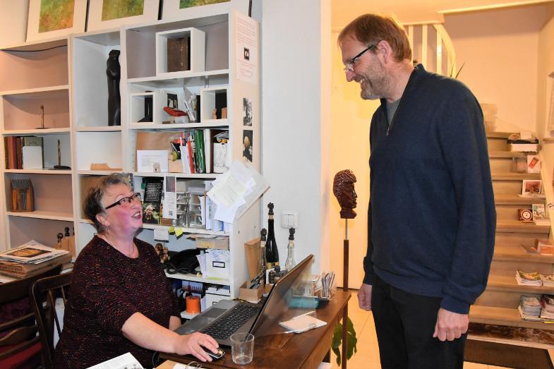 Büro im Künstlerhaus - Rose Schreiber + Michael Mayr