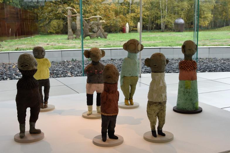 Anna Dorothea Klug, Neue Boten von der Welt dahinter, 2017, Installation, Foto: S. Neuamnn