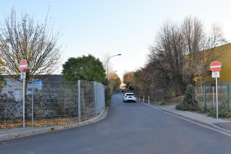 Durchfahrverbot Clarenbergweg als VEP Projekt