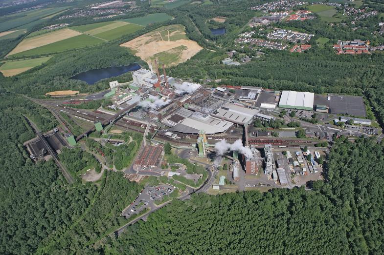 Brikettfabrik Wachtberg, Foto RWE Power
