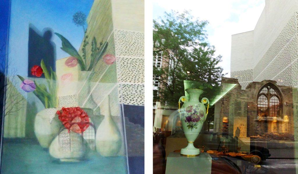 Werke von Ursula Schaper-Wieland und Ruth Zingraf