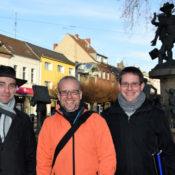 Aktivkreis Frechen, Vorstand: Peter Metz (zweiter Vorsitzender), Volker Janzen (erster Vorsitzender), Björn Goetze