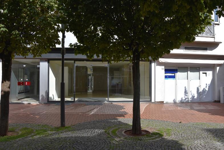 Leere Läden in der Frechener Fußgängerzone