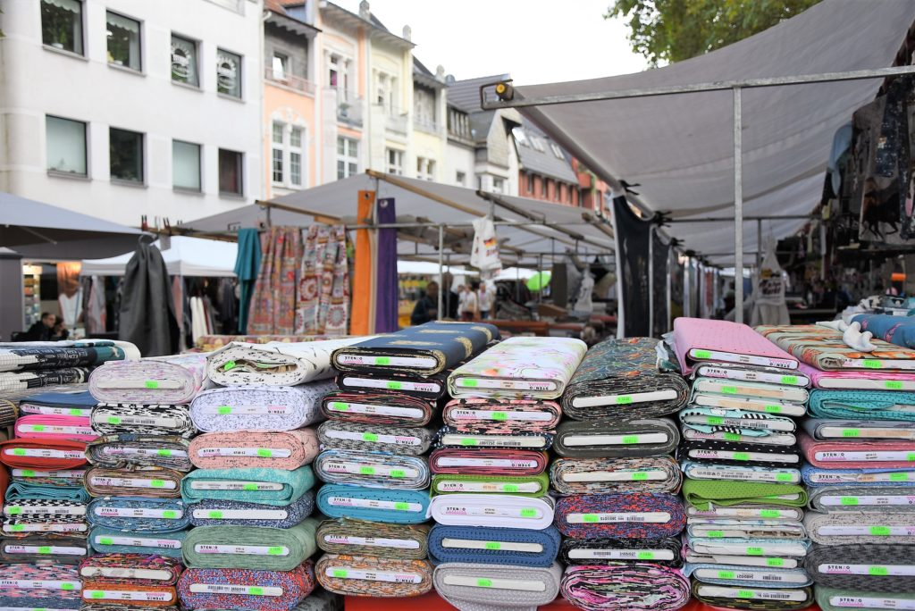 Stoffmarkt September 2017