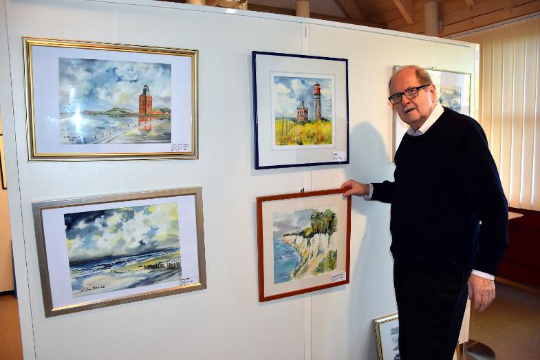 Christian Plück, Querschnitte, Ausstellung, Landschaftsbilder