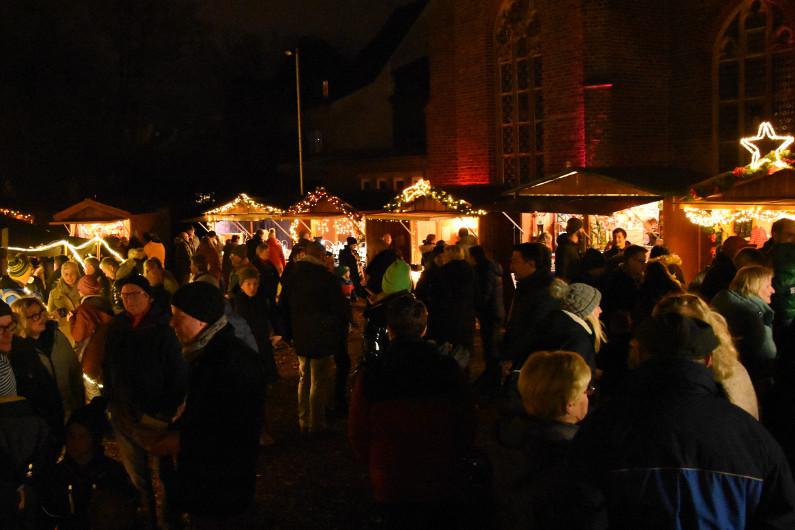 11. Königsdorfer Weihnachtsmarkt am 1. Advent 2019, Foto: Susanne Neumann