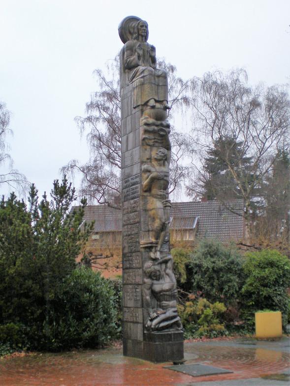 Kriegerdenkmal in der Grünanlage an der Hubert-Prott-Straße/Fürstenbergstraße