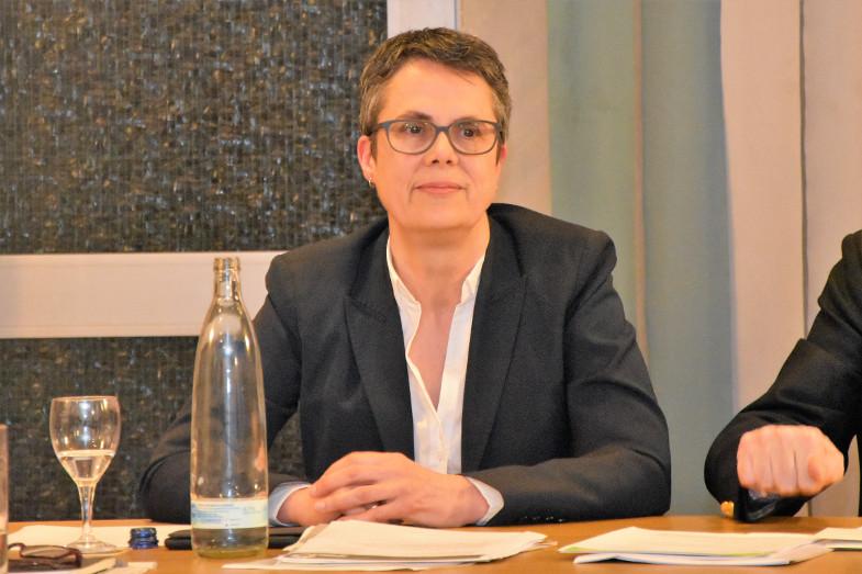Miriam Erbacher, Bürgermeisterkandidat der Frechener Grünenster