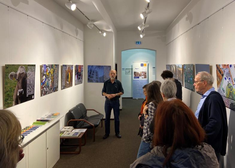 Prima fürs Klima? Ausstellungseröffnung mit Michael Funcke-Bartz