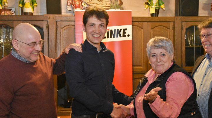 Hauke Dressel ist Bürgermeisterkandidat der Linken in Frechen