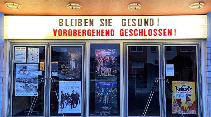 Wegen der Corona-Virus-Epidemie bleibt auch das Kino in Frechen bis mindestens 19. April geschlossen