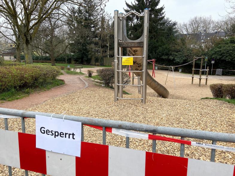 """Sperrung Spielplatz """"an der Synagoge"""""""