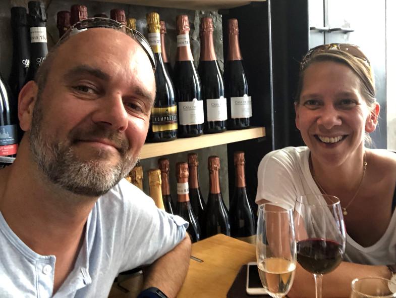 Privatfoto: Dirk und Michaela Ziegener in Lissabon