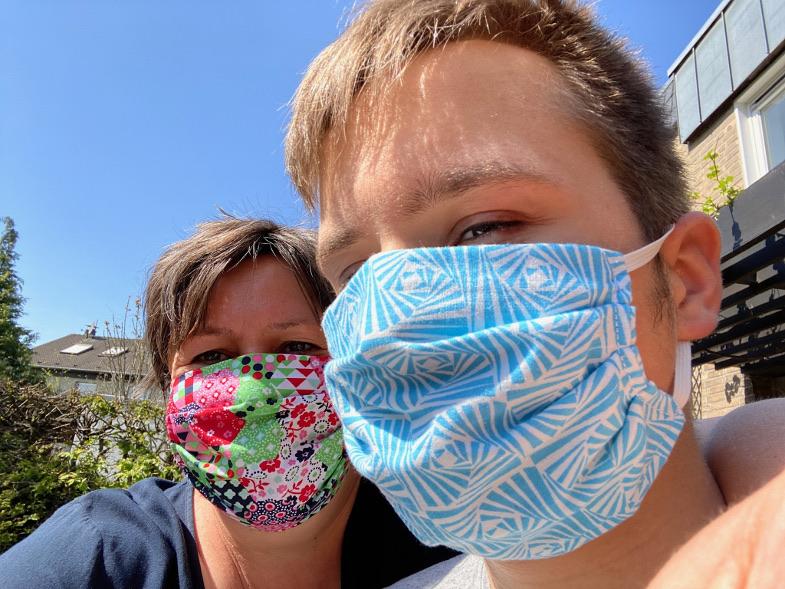 Erlaubte Alltagsmasken zum Schutz vor Corona-Virus