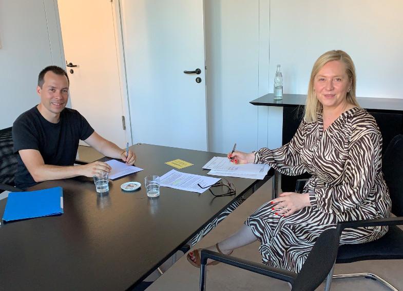 Susanne Stupp im Gespräch mit Clement Audard