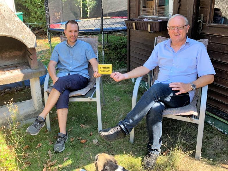 Wolfgang Höfig im Gespräch mit Clément Audard