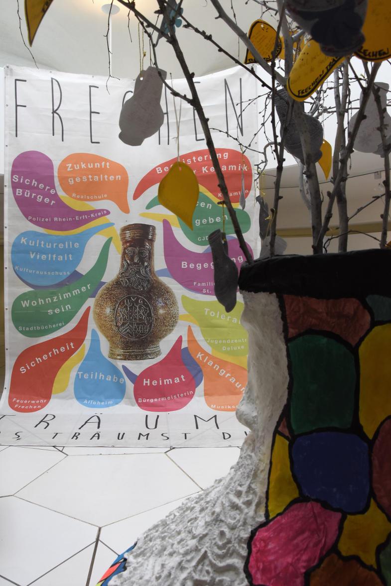 Frechen Träumt-Projekt von Anna Kölzer im Keramion