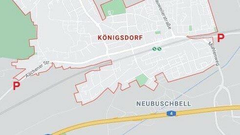 Pförtnerampeln für Königsdorf