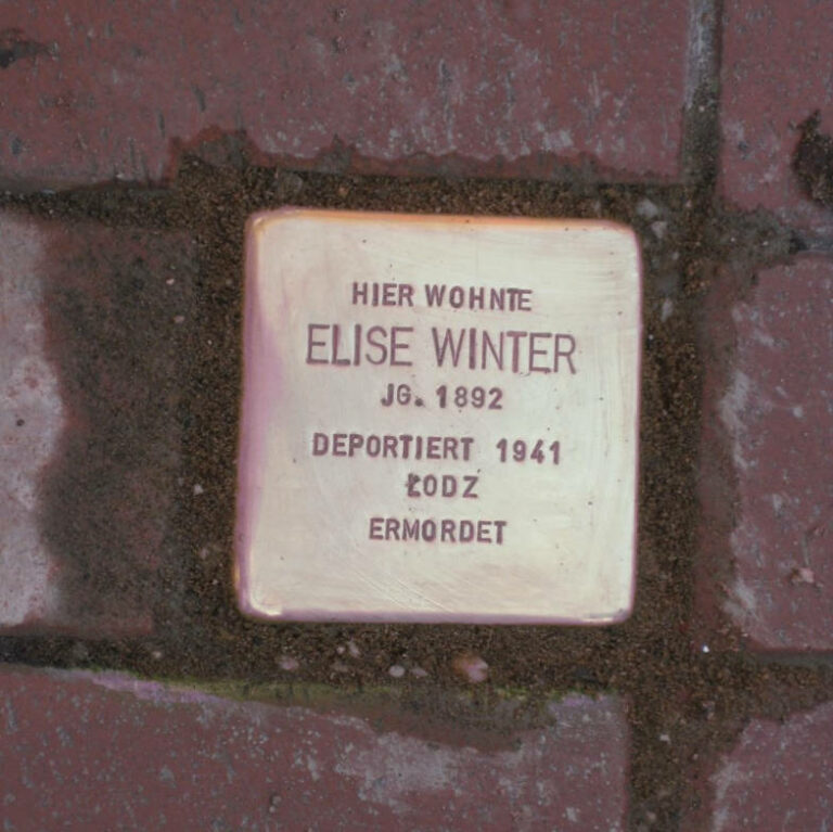 Stolperstein Elise Winter