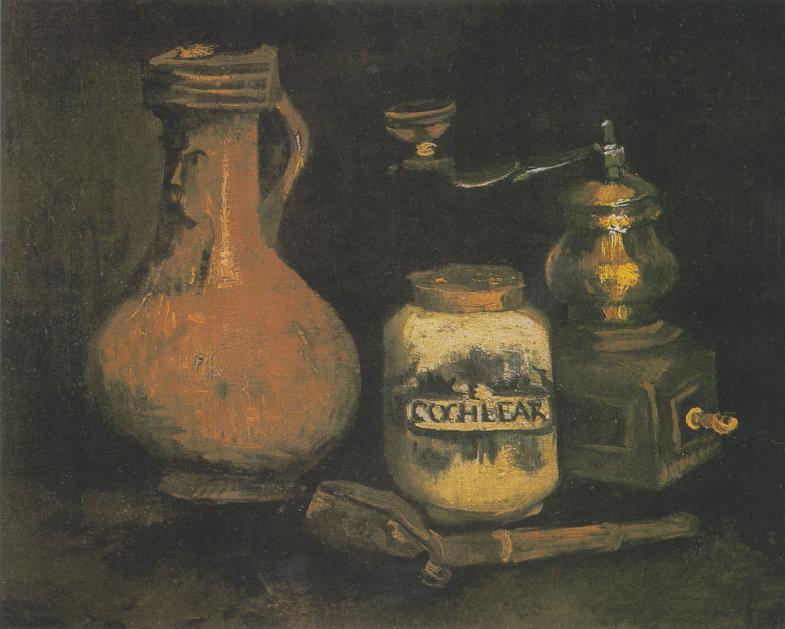 Stillleben von van Gogh mit Bartmannkrug
