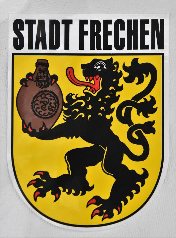 Jülicher Löwe mit Bartmannkrug